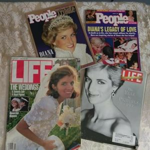 Vintage Life and People Magazines Lot